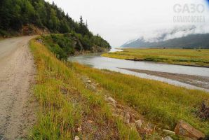 On the Way to Dyea, Alaska 01 by GabOrcinus