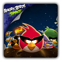 Angry Birds Space icon by Themx141