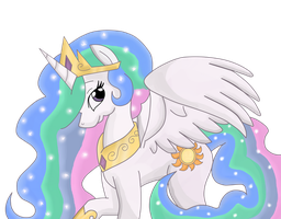 .:Princess Celestia:. by Lord-Hon