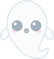 Kawaii Ghost by amis0129