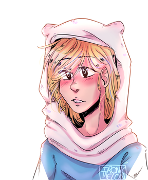 The worst anatomy I've ever done (Finn) by Ironic-Melon