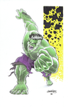 The Hulk by wjgrapes
