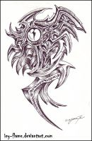 Eye pattern ink design by Icy-Flame