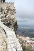 view  in San Marino by ingeline-art