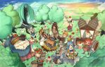 Crystal Chronicles: Chow Time by rubberyjido