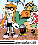 Inkling In Kaizoland? by EpicSubterfuge