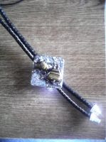 bolo tie for dad by gersham