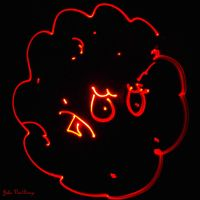 Meatwad Light Painting by SublimeBudd