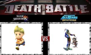 Death Battle Lucas vs Abe by Werewolf-Hero