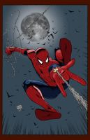 Spider-man by Flowcoma Colored by statman71