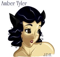 Amber in COLOUR by JoJoBynxFwee