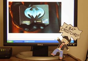 A BAT CREDIT CARD?!?! by PDJ004
