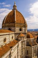 Il Duomo -section-, Firenze by Bloodypizza