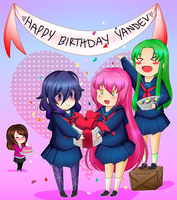 Happy Birthday YanDev by MulberryDreamer