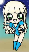 Chibi Lady Gaga Poker Face by Cupida