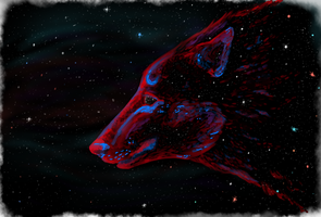 Galaxy Wolf by magerights