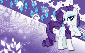 Rarity Generosity Wallpaper by MLArtSpecter