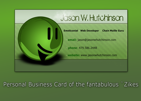 Zikes Business Card by mbqlovesottawa