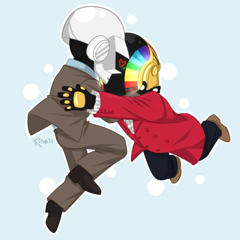 Daft Chibis by Kinotastic