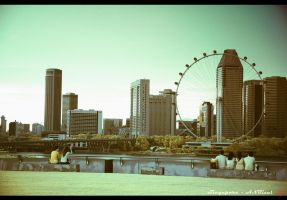 Singapore Flyer by neoxavier