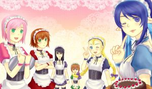 Welcome to Vesperia Cafe by greenringchan