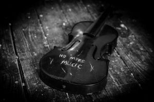No More Music #2 by ncaph