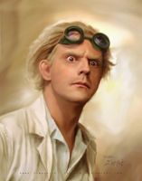 Young Emmet Brown by cylonka