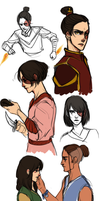 Rule 63!Zuko by batcii