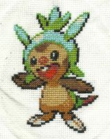Chespin Cross Stitch by Pansymanic
