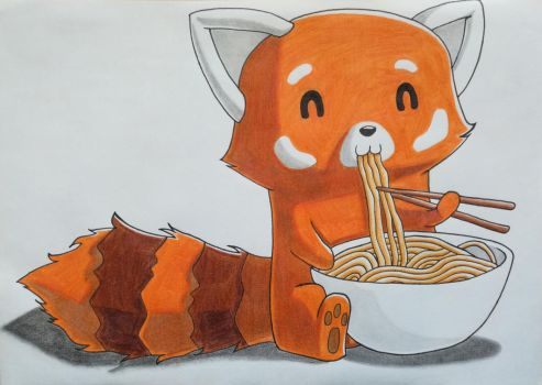 Red Panda by Silver-Flash