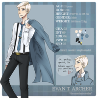 W-17: Evan Archer by kimitama