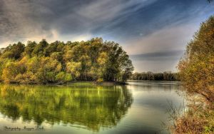 Hungarian landscapes.Danube-River. HDR. 1. by magyarilaszlo