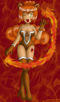 Burning Passion Vulpix :c: by izka197