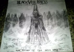 Black Veil Brides - Wretched And Divine by tex95