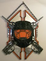 Halo Legendary Spartan Shield by Veggie-San