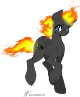 Fan Art: Thunder Flame [For ~zack347] by Balance-Song