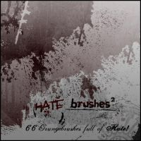 Hate Brushes 2 for PS by malte06