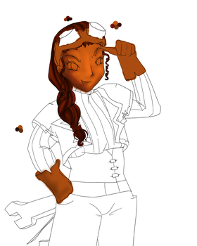 Nita Free wrench WIP by catseathedevil