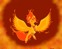 Flame Princess by Jazzekat