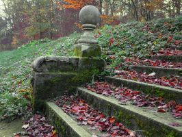 Park Stairs by LuDa-Stock