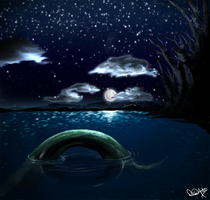 Night Waters by DivineAntics