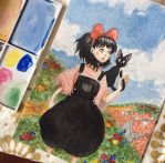 Kiki and Jiji by carlottaemma