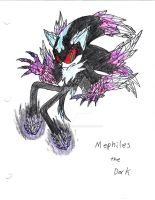 Mephiles the Dark by XenomorphicDragon
