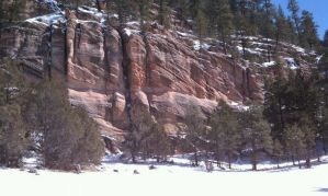 Snowy Coconino Sandstone by ThePoisonSword