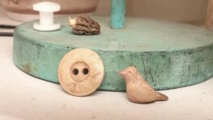 My little clay bird--unpainted by mspiper2004