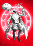 Guardian of the first zone: Dedan by Wojtovix