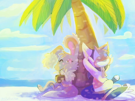 comission: Lets relax by Shellyshockz