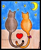 Spring and Cats by Margo-K