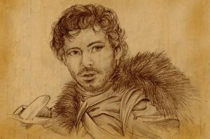 Robb Stark King of the North by Phadme
