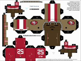 Patrick Willis 49ers Cubee by etchings13